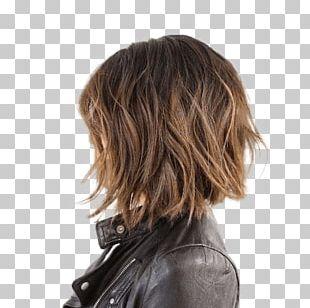 Bob Cut Hairstyle Hair Coloring Lob PNG