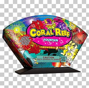 Fireworks Coral Reef Fountain PNG