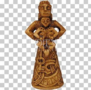 Odin Statue Frigg Norse Mythology Freyja PNG