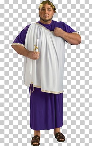 Julius Caesar Robe Ancient Rome Costume Toga PNG