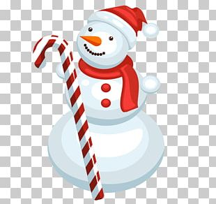 Santa Claus Christmas Ornament Snowman Illustration PNG