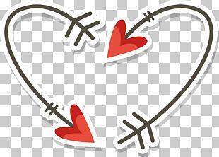 Love Arrow Vecteur PNG