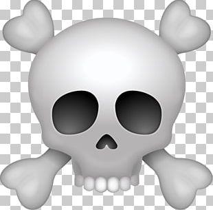 Pirate Skull Emoji PNG