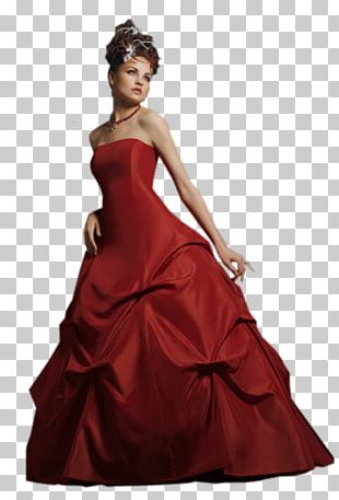 Wedding Dress Evening Gown Woman Party Dress PNG