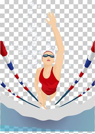 Olympic Games Swimming Drawing Illustration PNG