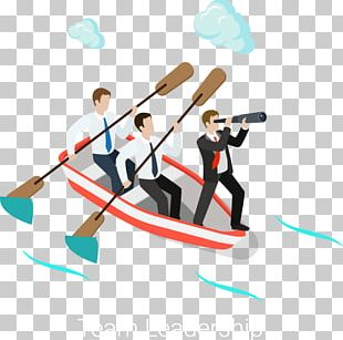 Rowed Business People PNG