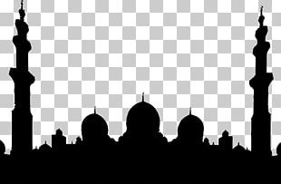 Sheikh Zayed Mosque Sultan Qaboos Grand Mosque Silhouette Place Of Worship PNG