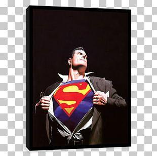 Superman Clark Kent Comics Comic Book Art PNG