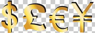 Euro Pound Sterling Currency Symbol Yen Sign Dollar Sign PNG