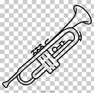 Trumpet Musical Instruments Drawing PNG