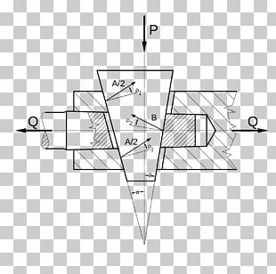 Wedge Simple Machine Angle Force PNG
