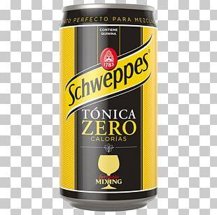 Tonic Water Fizzy Drinks Ginger Ale Bitter Lemon Schweppes PNG