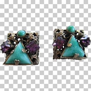Turquoise Earring Amethyst Emerald Gemstone PNG