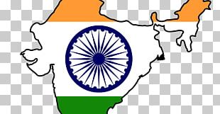 Indian Independence Movement Flag Of India Map PNG
