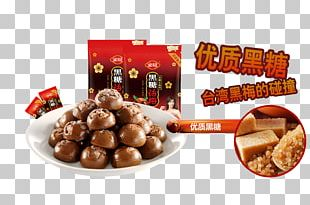 Brown Sugar Candy Li Hing Mui Lollipop PNG