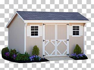 Saltbox Shed Gambrel Garden Building PNG