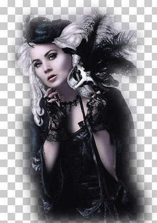 Gothic Fashion Goth Subculture Gothic Art Beauty PNG