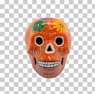 Skull Day Of The Dead Mexican Cuisine Ceramic Terracotta PNG