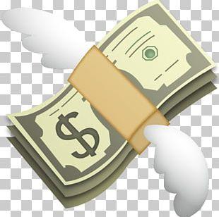 Emoji Money Bag Sticker PNG