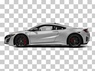 2017 Acura NSX Sports Car 2018 Acura NSX Coupe PNG
