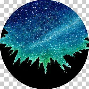 Watercolor Painting Drawing Art Night PNG