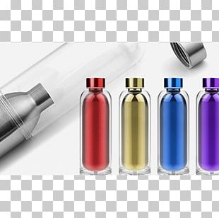 Glass Bottle Iced Tea Water Bottles PNG