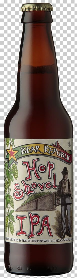 India Pale Ale Beer Hops Bear Republic Brewing Company PNG
