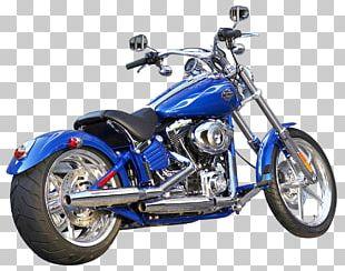 Harley-Davidson Motorcycle Bicycle Softail PNG