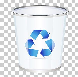 Recycling Waste Container Icon PNG