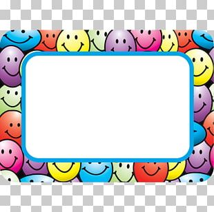 Smiley Name Tag Sticker Label Emoticon PNG