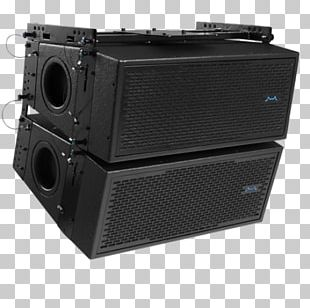 Subwoofer Sound Microphone Audio Mixers Line Array PNG
