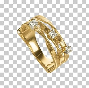 Ring Diamond Jewellery Colored Gold PNG
