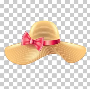 Woman With A Hat Sun Hat Straw Hat Sombrero PNG
