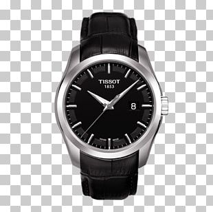Tissot Automatic Watch Quartz Clock Strap PNG