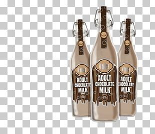 Beer Bottle Chocolate Milk Alcoholic Drink Glass Bottle PNG
