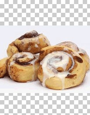 Cinnamon Roll Sticky Bun Frosting & Icing Sweet Roll Milk PNG
