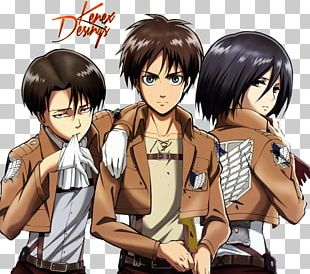 Eren Yeager Mikasa Ackerman Levi Armin Arlert A.O.T.: Wings Of Freedom PNG