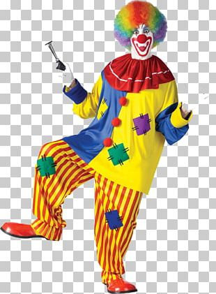 Joker Performance Clown Costume Circus PNG