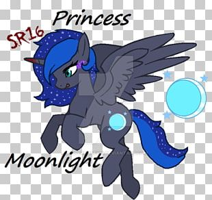 Pony British Royal Family Princess Luna PNG