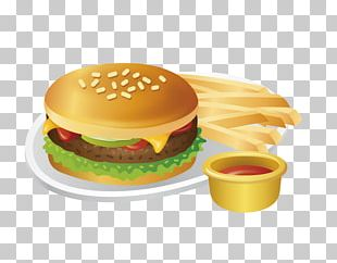 Hamburger French Fries Fast Food Fried Chicken Hot Dog PNG