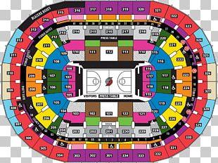 Moda Center Rose Quarter Portland Trail Blazers NBA Seating Assignment PNG