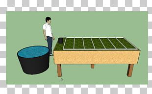 Bed Frame Table Aquaponics Garden Furniture Kijani Grows PNG