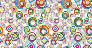 Color Euclidean Pattern PNG