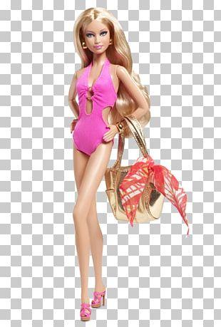 Amazon.com Barbie Basics Swimsuit Doll PNG