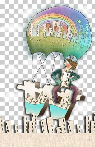 Cartoon Balloon Drawing Illustration PNG