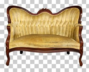 Loveseat Chair Antique PNG