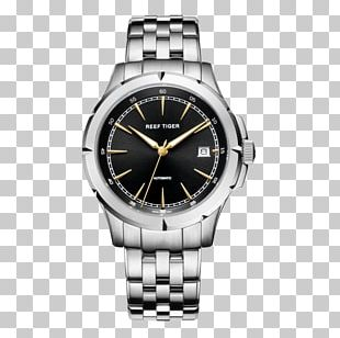 Automatic Watch Stainless Steel Omega SA Diving Watch PNG