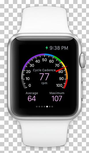Apple Watch Strava App Store PNG