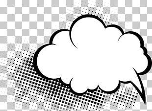 Comics Comic Book Speech Balloon Cloud PNG
