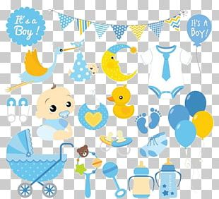 Infant Baby Shower PNG